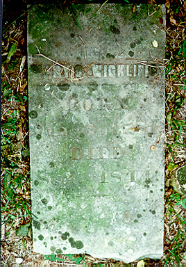 At an angle behind the 